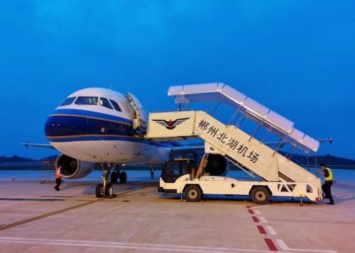 航班安排!市民们共同见证北湖机场通航~