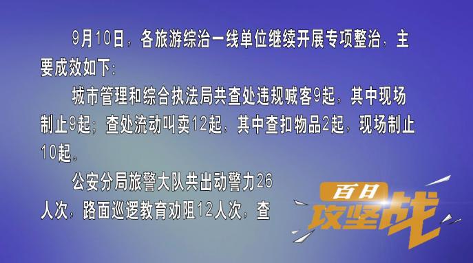 """""""百日攻坚战""""活动日小结(9月10日)"""