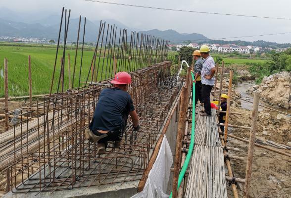 农村公路危桥改造工程稳步推进