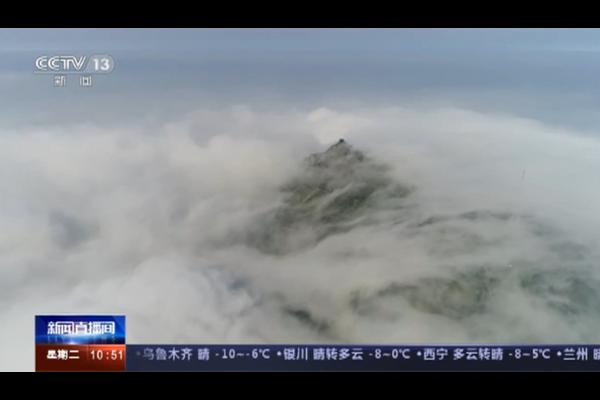【新闻直播间】湖南雾凇景观吸引游客赏景拍照