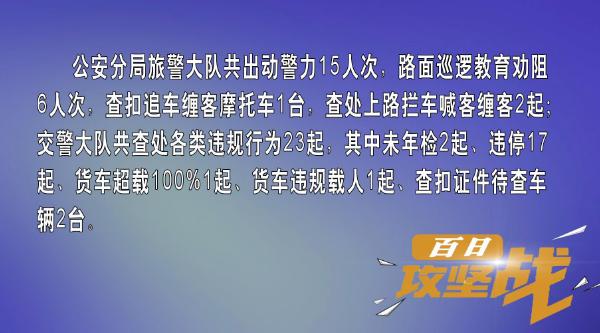 """""""百日攻坚战""""活动日小结"""