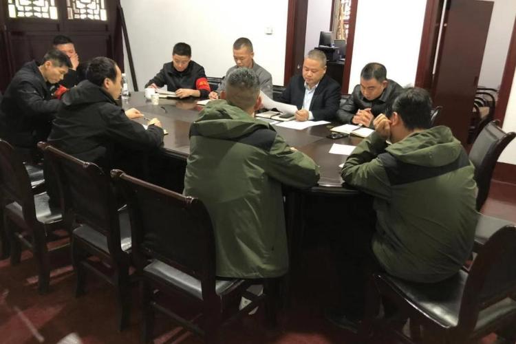 南岳大庙管理所召开旅游环境整治专项会议