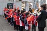 """小学生""""探秘""""警营——珠晖公安举行警营开放日活动"""