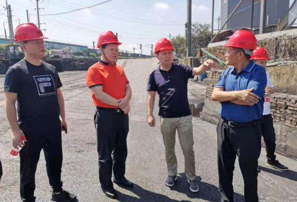 魏中发督导东江物流港埠码头环保整改工作