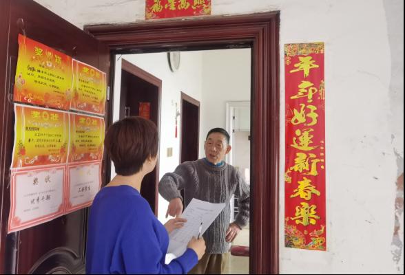 东风街道积极入户开展新冠疫苗接种宣传动员