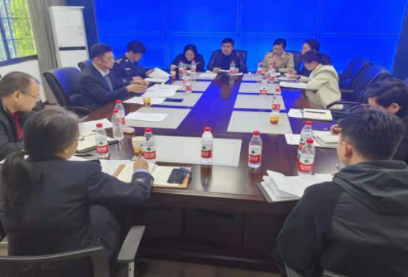 珠晖政法教育整顿专项整治组召开工作推进会议