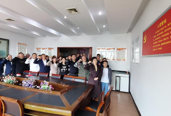 """珠晖区民政局机关党支部开展""""学史明理""""主题党日活动"""