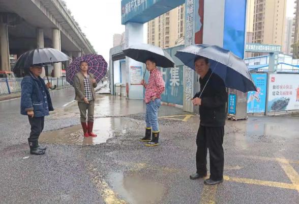 东风街道扎实做好强降雨安全防范工作