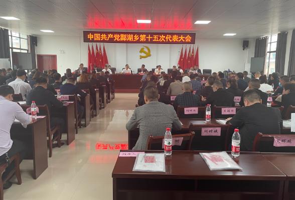 立足新起点实现新跨越 中国共产党酃湖乡第十五次代表大会胜利召开