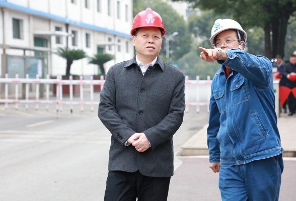 魏中发到湘衡盐化调研 为企业发展出谋划策
