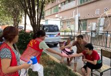 冶金街道开展中元节文明祭祀宣传活动