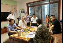 广东路街道积极开展征兵家访工作