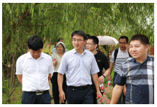 中科院地理资源所赴我区调研美丽中国建设评估工作