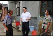 小康路上一个都不能少 区领导调研大昌村脱贫攻坚工作
