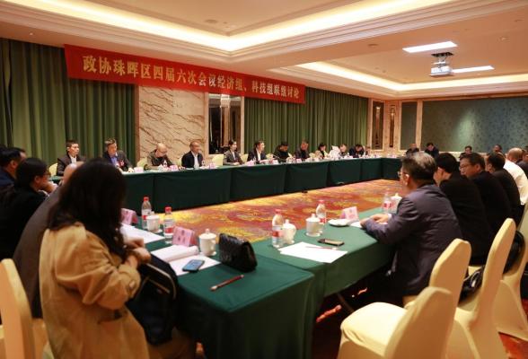 珠晖区政协委员开展联组讨论