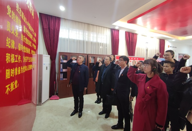 """区委宣传部机关党支部开展""""学史增信""""专题学习"""