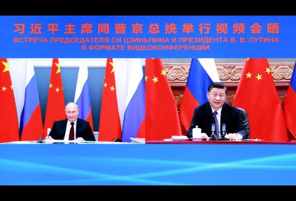 第一报道|中俄元首视频会晤 为两国关系长远发展指明方向