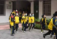 茅坪社区联合衡阳市第三中学开展未成年人安全逃生演习活动