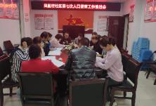 凤凰村社区积极推进人口普查工作