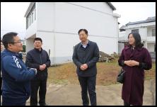 刘桢干督查农村人居环境整治工作