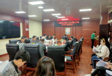 广东路街道组织学习《中国共产党政法工作条例》