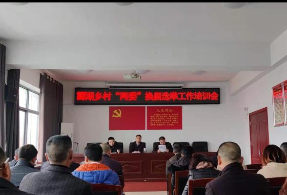 """酃湖乡开展村""""两委""""换届选举工作培训"""