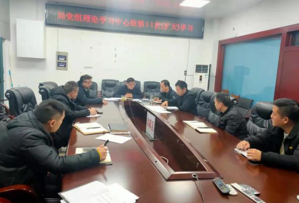 区水利局党组传达学习省委十一届十二次全会精神