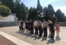 区委统战部重温革命历史  调研乡村振兴