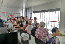 新华社区开展60岁以上老年人信息采集工作