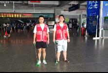 衡州路街道组织青年大学生开展志愿服务活动