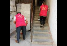 """上溪社区""""衡阳群众""""志愿者开展卫生清扫活动"""
