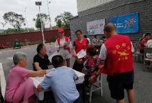 """白渔潭社区开展""""中元节文明祭祀""""宣传活动"""