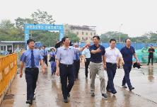"""刘孙承一行到我区视察检察院""""两房""""项目建设情况"""