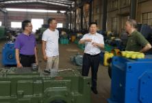 主动服务企业 区领导调研衡阳运输机械有限公司