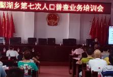酃湖乡开展第七次全国人口普查业务培训