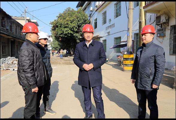 刘桢干调研老旧小区改造和棚户区改扩建项目工作