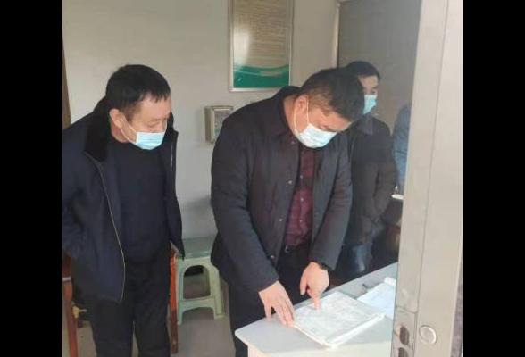 茶山坳镇开展辖区企业疫情防控专项检查工作