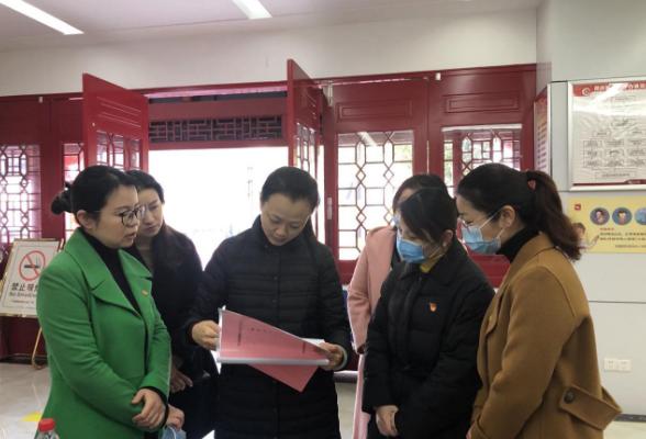团省委调研组调研临江社区团组织换届工作