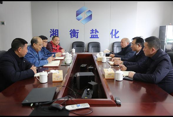 刘桢干走访我区部分工业企业和民营企业