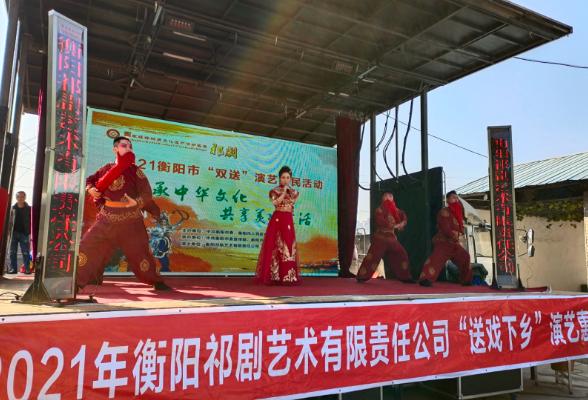 苏州湾社区组织开展文艺汇演迎新春