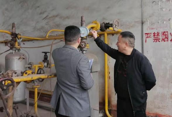 筑牢燃气安全防线 区城管局持续推进燃气安全管理工作