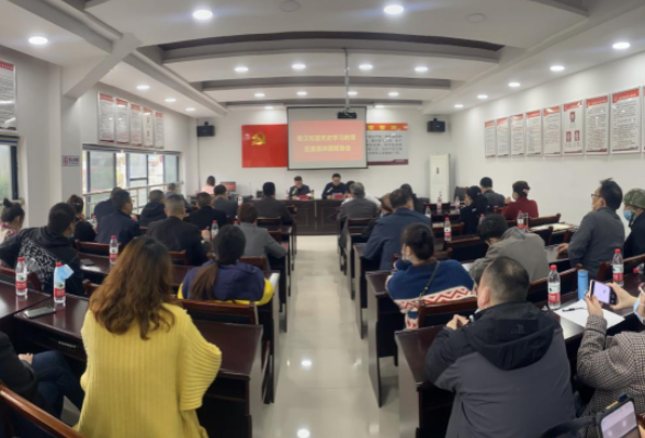 党史学习教育区委宣讲团宣讲报告会走进粤汉街道
