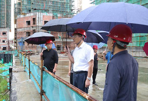 刘桢干调研洪塘安置房项目建设情况