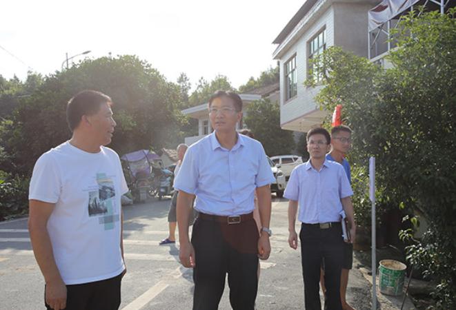 刘桢干督导茶山坳镇预防学生溺水工作