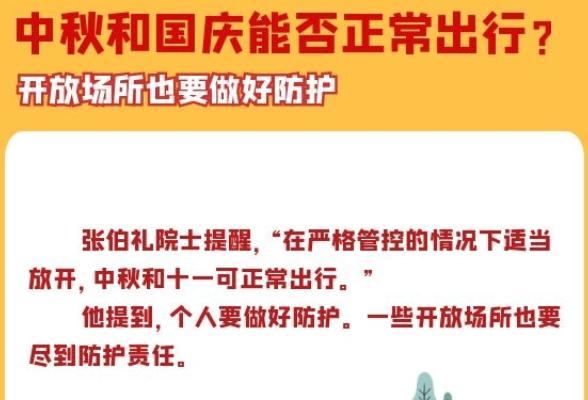 中秋、国庆将至,假期能否正常出行?做好这些事至关重要