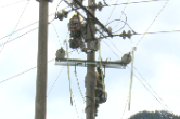 国网新晃县供电公司开展跨鱼塘、 河流电力线路隐患专项整治