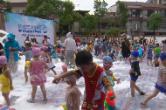 县幼儿园城北分园:安吉游戏 让幼儿清凉度夏