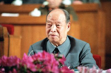 1987年4月11日,彭真委员长主持六届人大五次会议....jpg