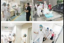长沙市妇幼保健院妇一科开展消防应急演练