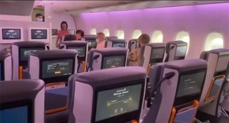 客机闲置 新加坡航空推出飞机餐厅